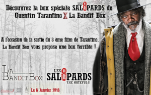 "Bandit Box LUI ""Les 8 Salopards"" de Tarantino"